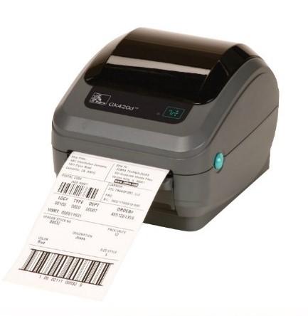 Zebra GK420t Thermotransfer Etikettendrucker mit 203dpi