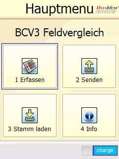 Barcodevergleich Software BCV3