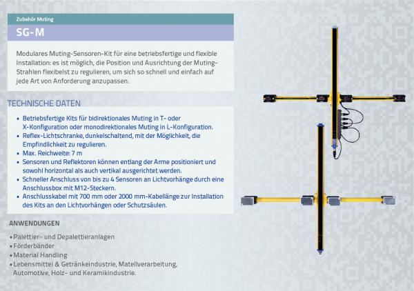 SG-M Modulares Muting-Sensoren-Kit
