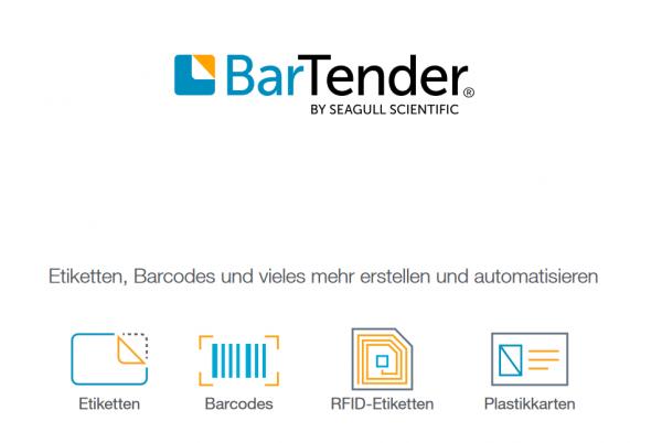 Seagull BarTender 2021 Starter Mehrplatz-Lizenz 1 Drucker