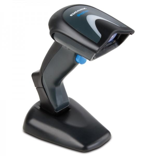 Datalogic Gryphon I GD4400 2D Handscanner, schwarz, Permanent Base