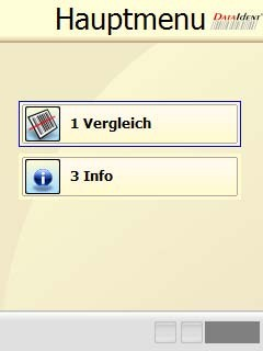 Barcodevergleich Software BCV2
