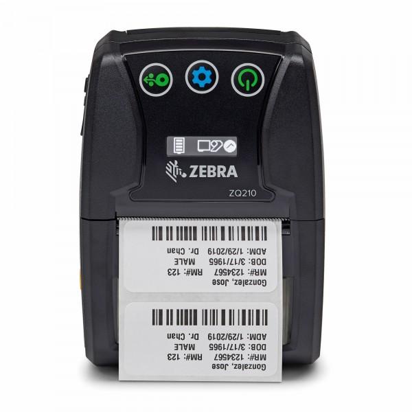 Zebra ZQ210 Mobiler Bluetooth Zebra Thermodirekt-Drucker