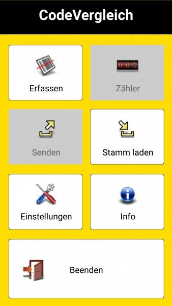 Barcodevergleich Software Lizenz für Android