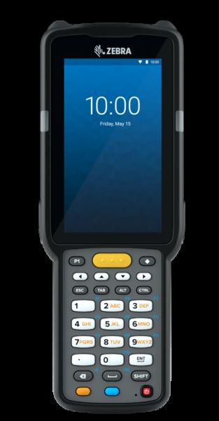 Zebra MC3300X 2D , Android 10, BT, WLAN, NFC, 29 Key Tastatur