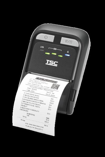 TSC TDM Serie: TDM-20 – mobiler Barcodedrucker mit Bluetooth